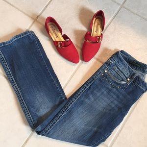 Rock 47 Ultra Low Rise Boot Cut Jean